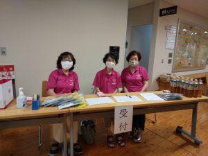 受付:左京北地区更生保護女性会の皆様